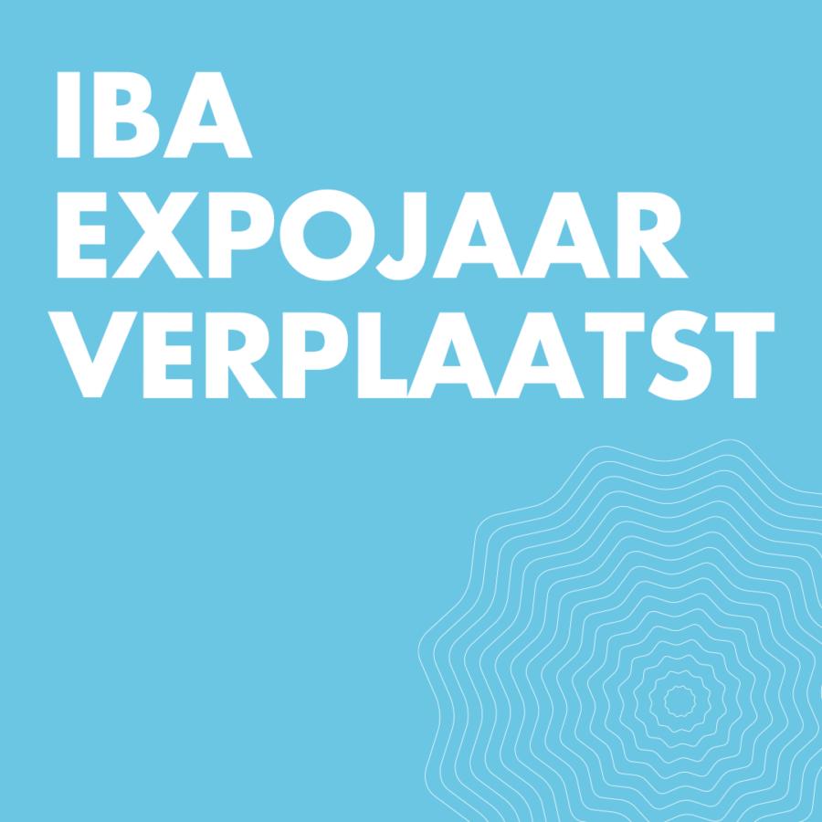IBA Expojaar verplaatst