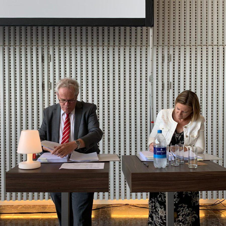Gemeente Heerlen en VOC/VBC tekenen samenwerkingsovereenkomst gebiedsontwikkeling Schinkelkwadrant-Zuid