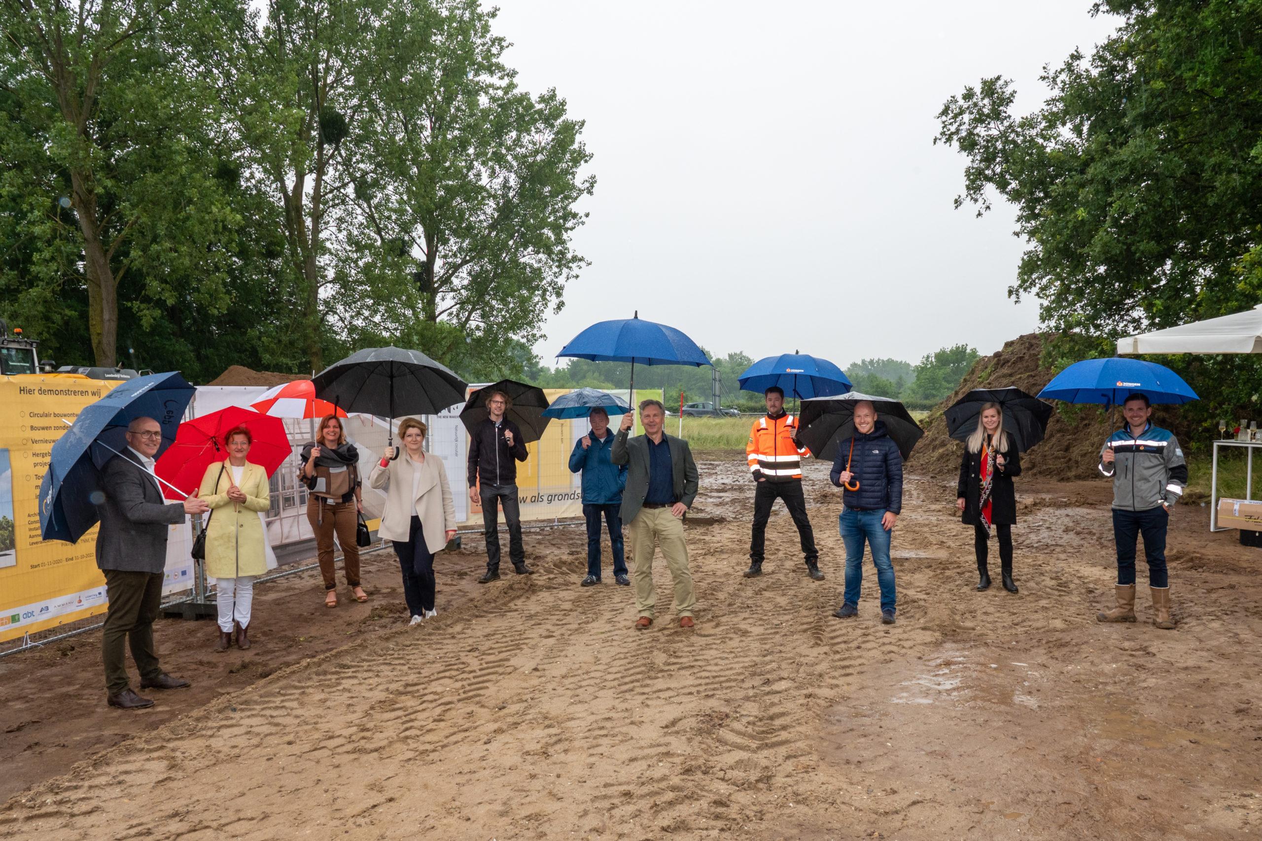 Bouw 'Green Transformable Building Lab' van start in Heerlen