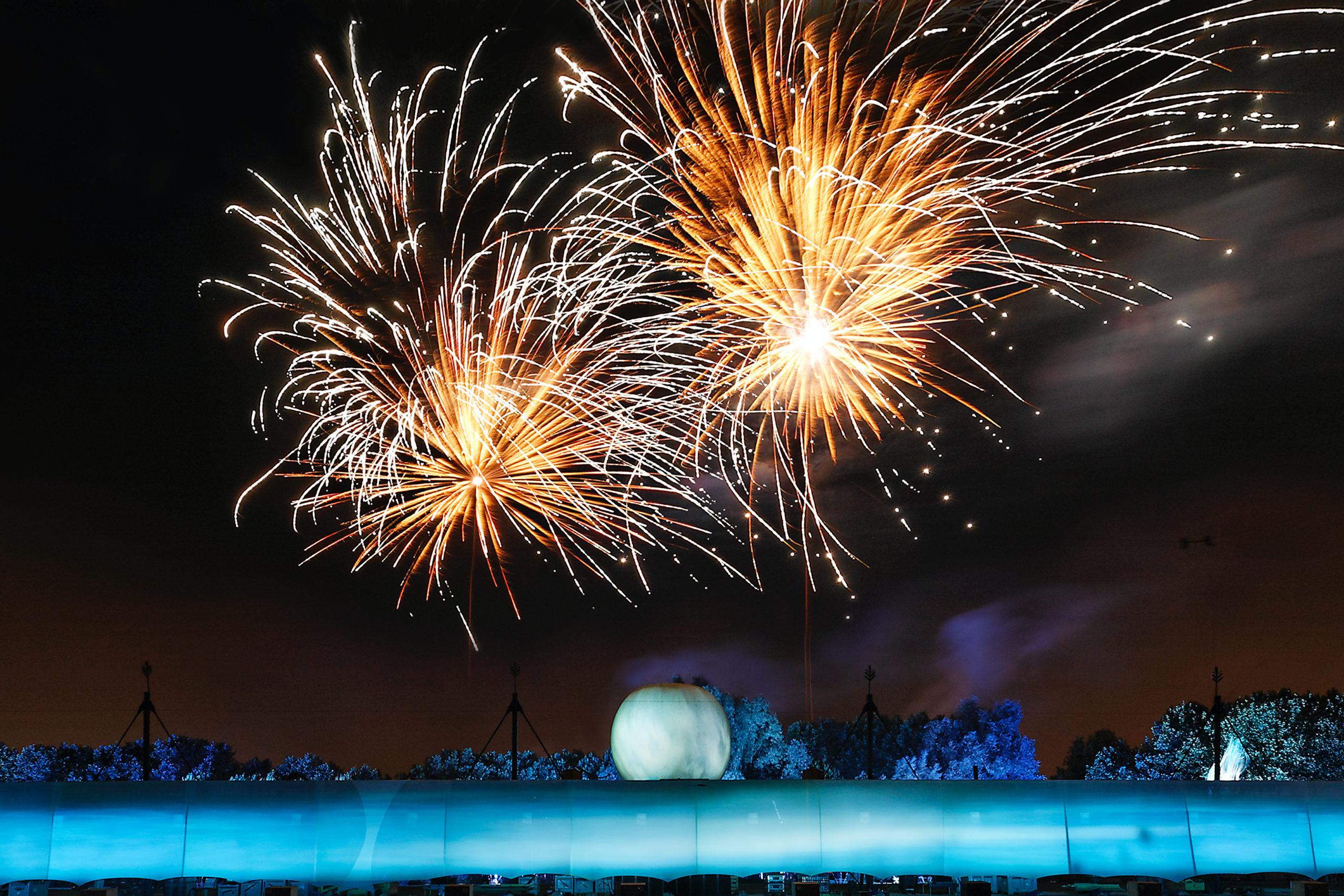 Opening 30ste zomereditie Cultura Nova + Opening Expojaar IBA Parkstad met spektakelvoorstelling van Frans vuurwerkgezelschap Groupe F