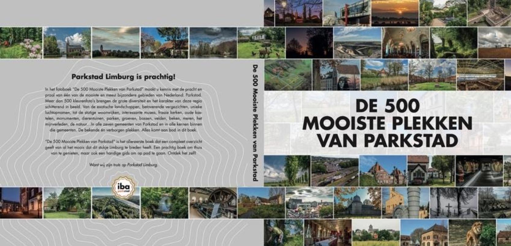 """Fotoboek """"De 500 Mooiste Plekken van Parkstad"""""""
