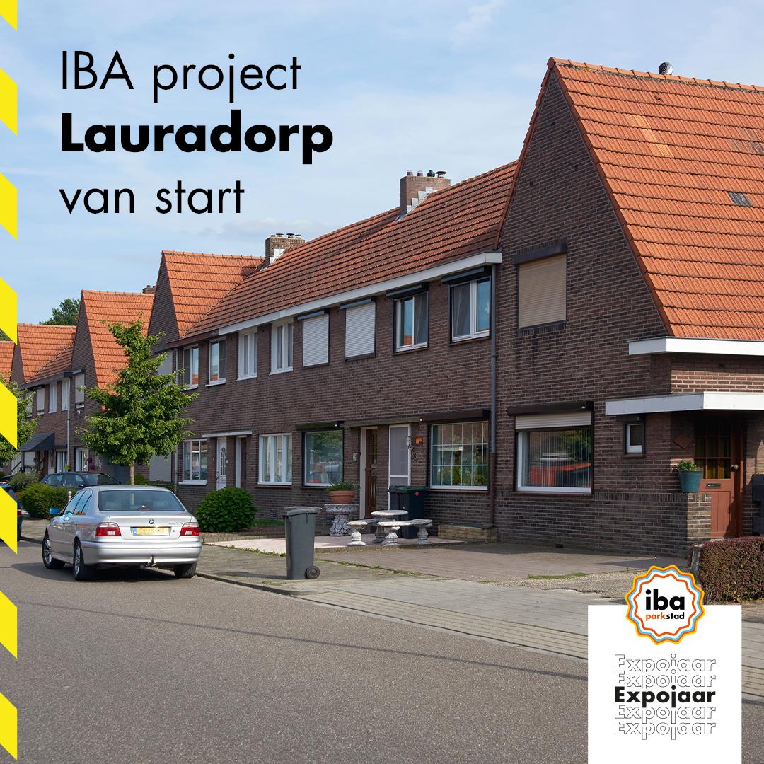 Bestuurders geven startschot voor IBA-project 'Lauradorp'